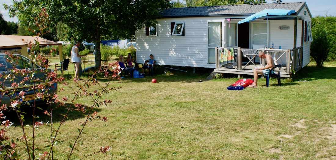 mobil home Camping des Alouettes